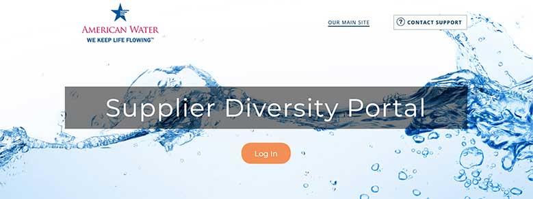 amwater Supplier Diversity Portal