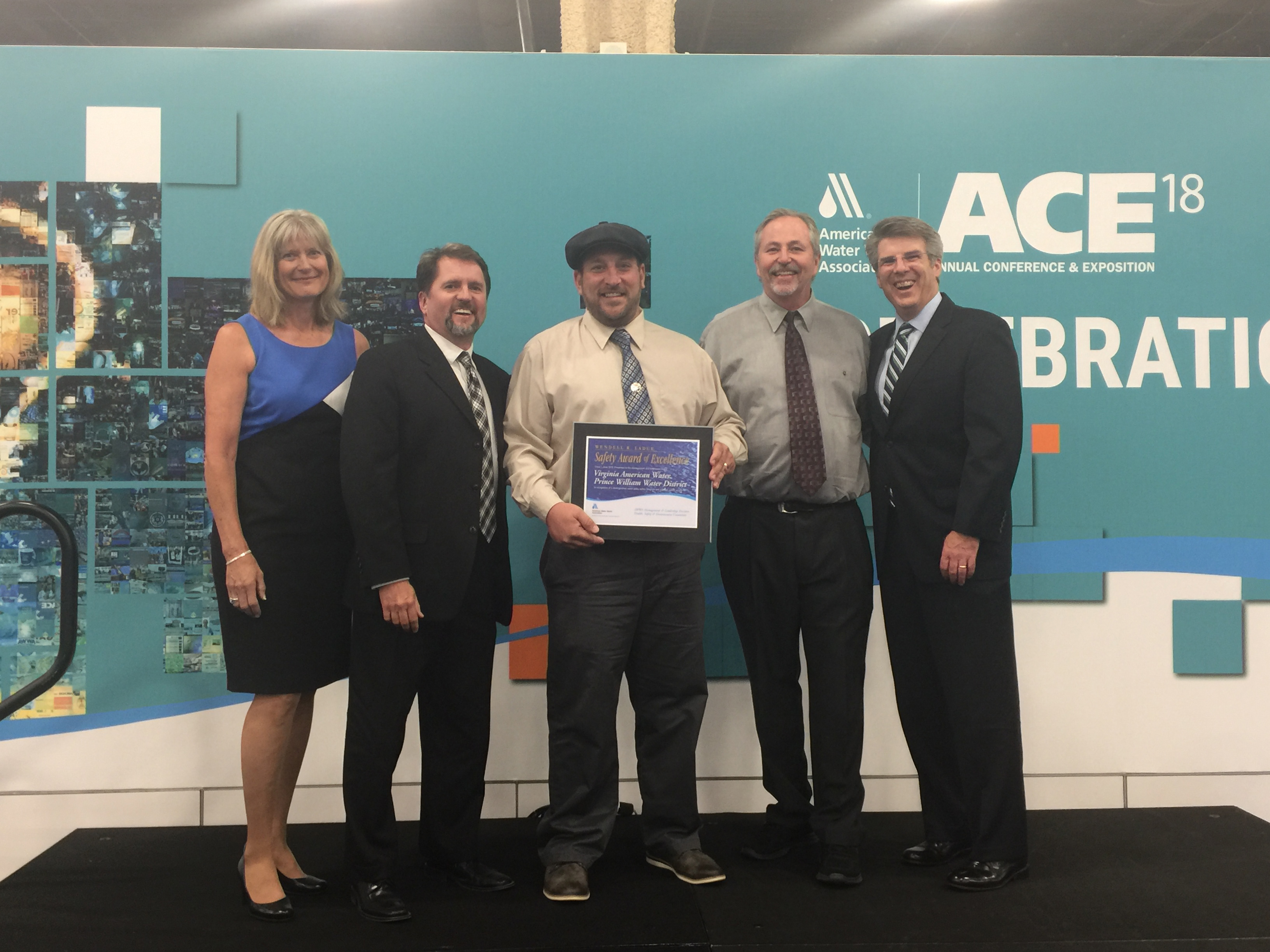 Prince William Water Team Receives National Safety Award