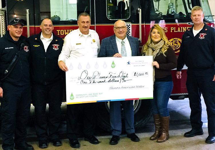 ILAW Awarding Savoy Fire Department
