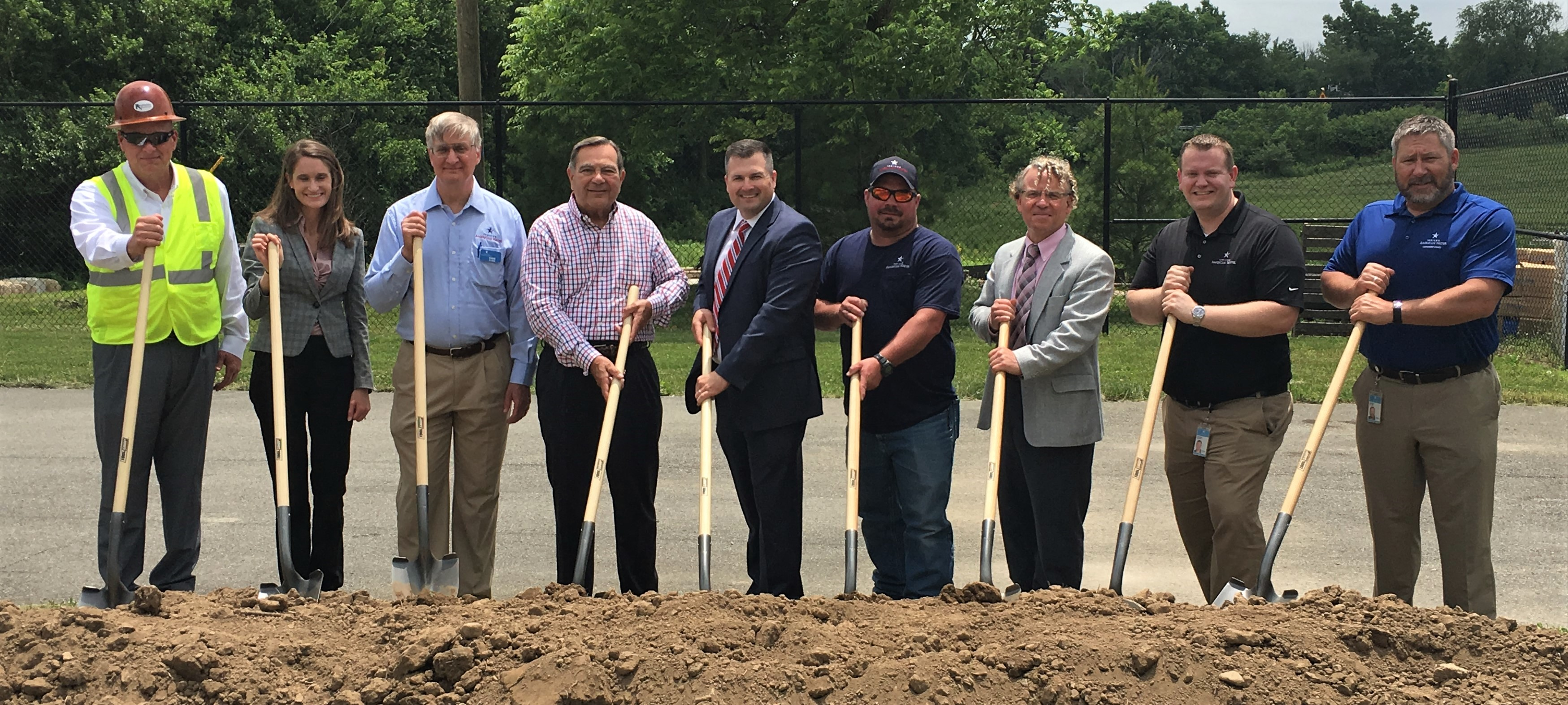 Indiana American Water Breaks Ground on New Water Treatment Facilities in Noblesville