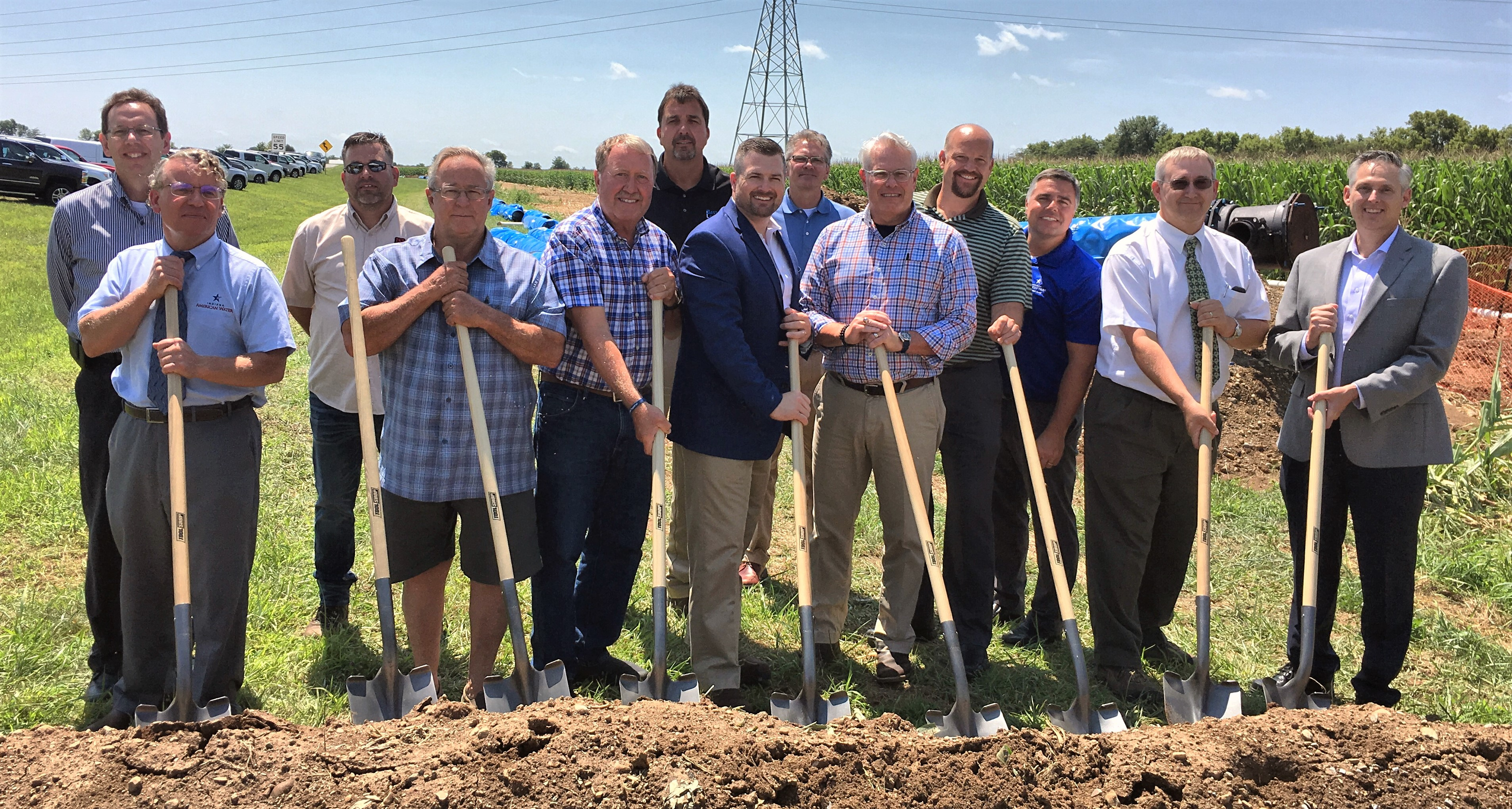 Indiana American Water Breaks Ground on Water System Infrastructure Serving Shelbyville, Ind.